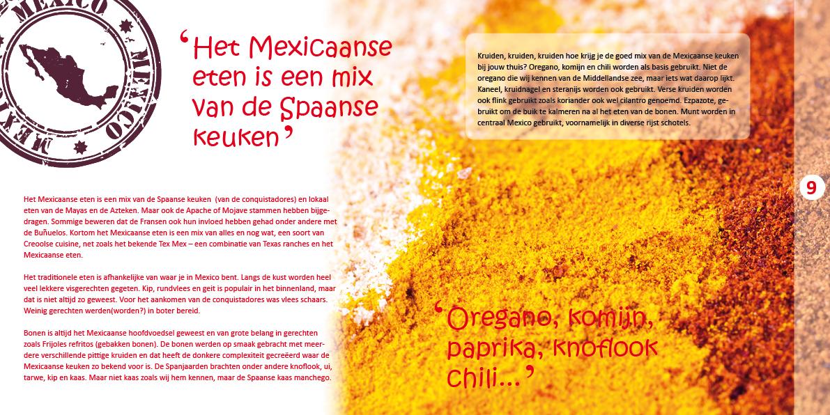 Kookboek De Smaak van Mexico 1