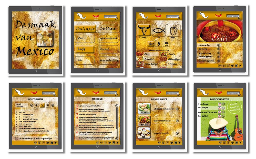 Kookboek De Smaak van Mexixo - App