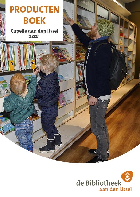 Een 22 pagina's tellend Productenboek van Capelle aan den IJssel